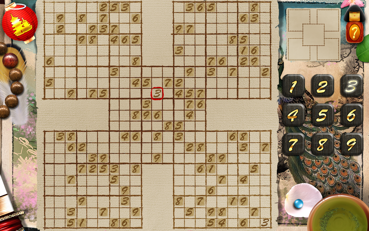 Sudoku Ronin- screenshot