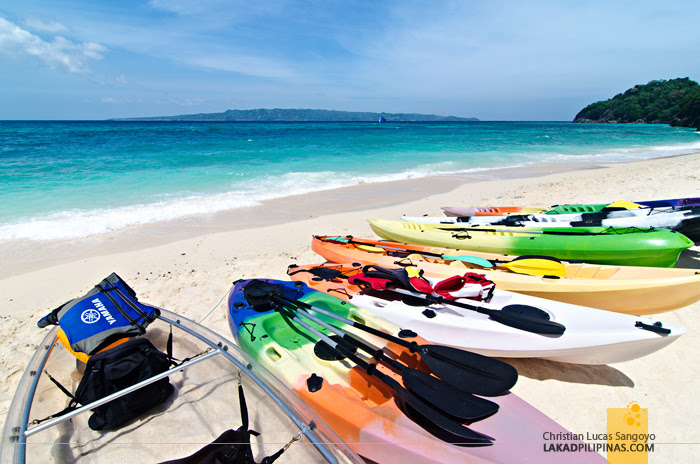 Puka Beach Kayak Rental Boracay