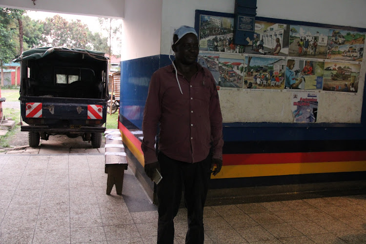 Patrick Ayieko who is the owner of the house where 35 children were found engaging in sexual activities at Sango estate in Homa Bay town on July 3,2020