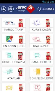 Aras Kargo Mobil Uygulama Screenshot