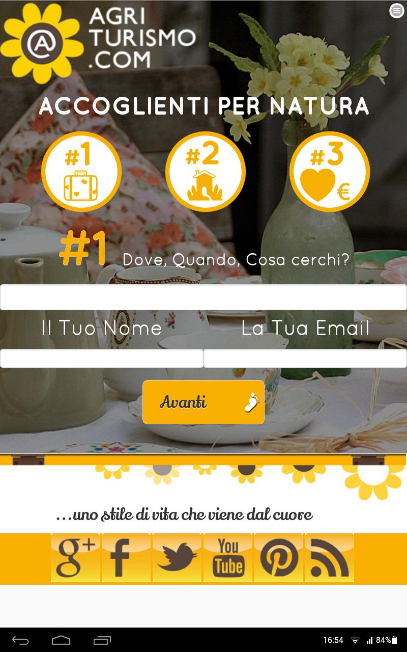 Скриншот Agriturismo.com