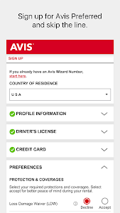 Avis Car Rental screenshot 6