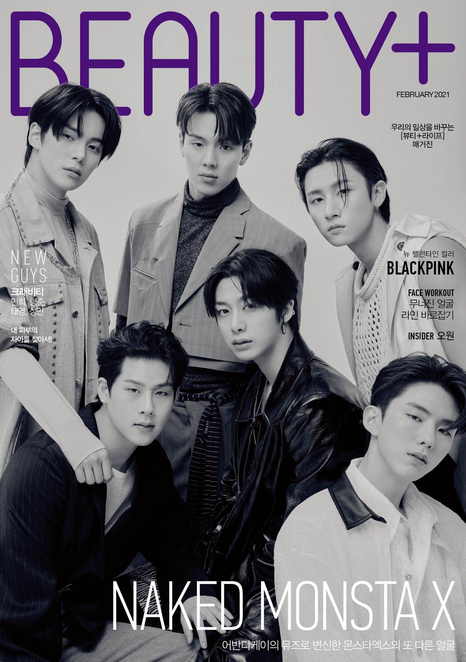 Monsta X for Beauty+ Magazine