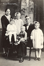 Photo: Bernard Strasen and H. (Ziegfeld) Strasen family — missionaries to India —1921-1951