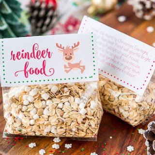 Magic Reindeer Food Recipe and Poem.