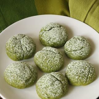 Matcha Tea Cake Cookies Recipe