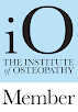 The Institute of Osteopathy Badge for Osteopathic Consultancy in Camberley, Frimley and Farnborough