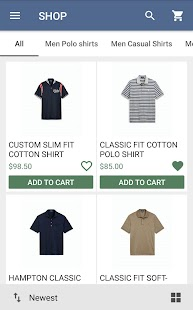 Fashion Ecommerce Mobile App with CMS - náhled