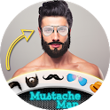 Men Beard Hairstyle Photo Editor icon