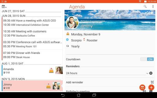 ASUS Calendar screenshot 13