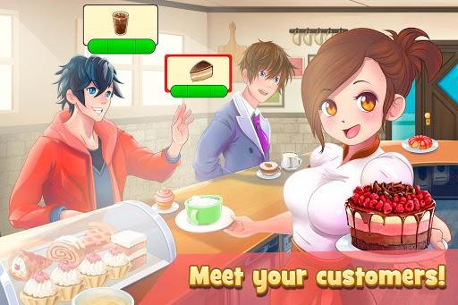Dessert Chain: Cafu00e9 Waitress & Restaurant Chef 0.8.10 screenshots 3