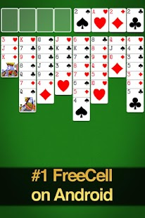 FreeCell Solitaire Screenshot 8