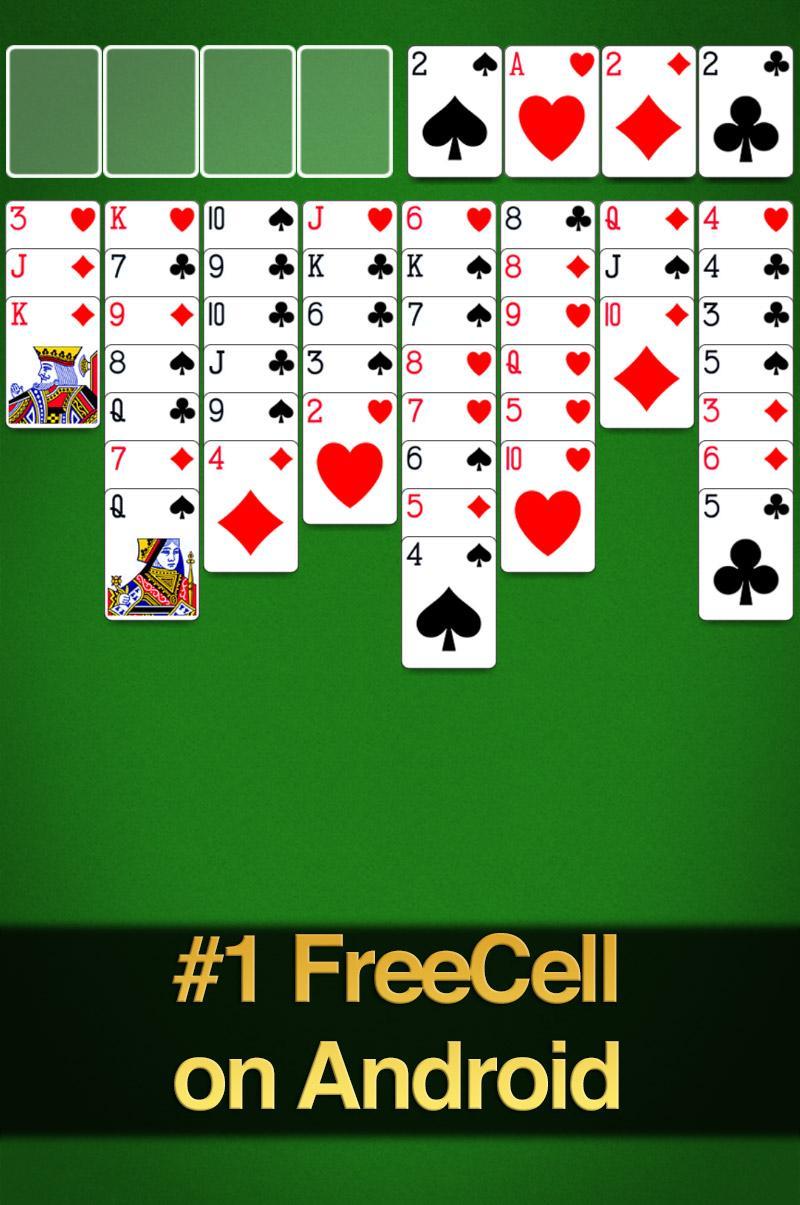 FreeCell Solitaire screenshot #8