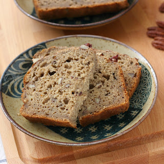 Maple Pecan Banana Bread
