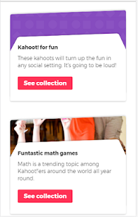 Kahoot Explore Games - náhled