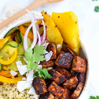 Hawaiian BBQ Tofu Bowls Recipe