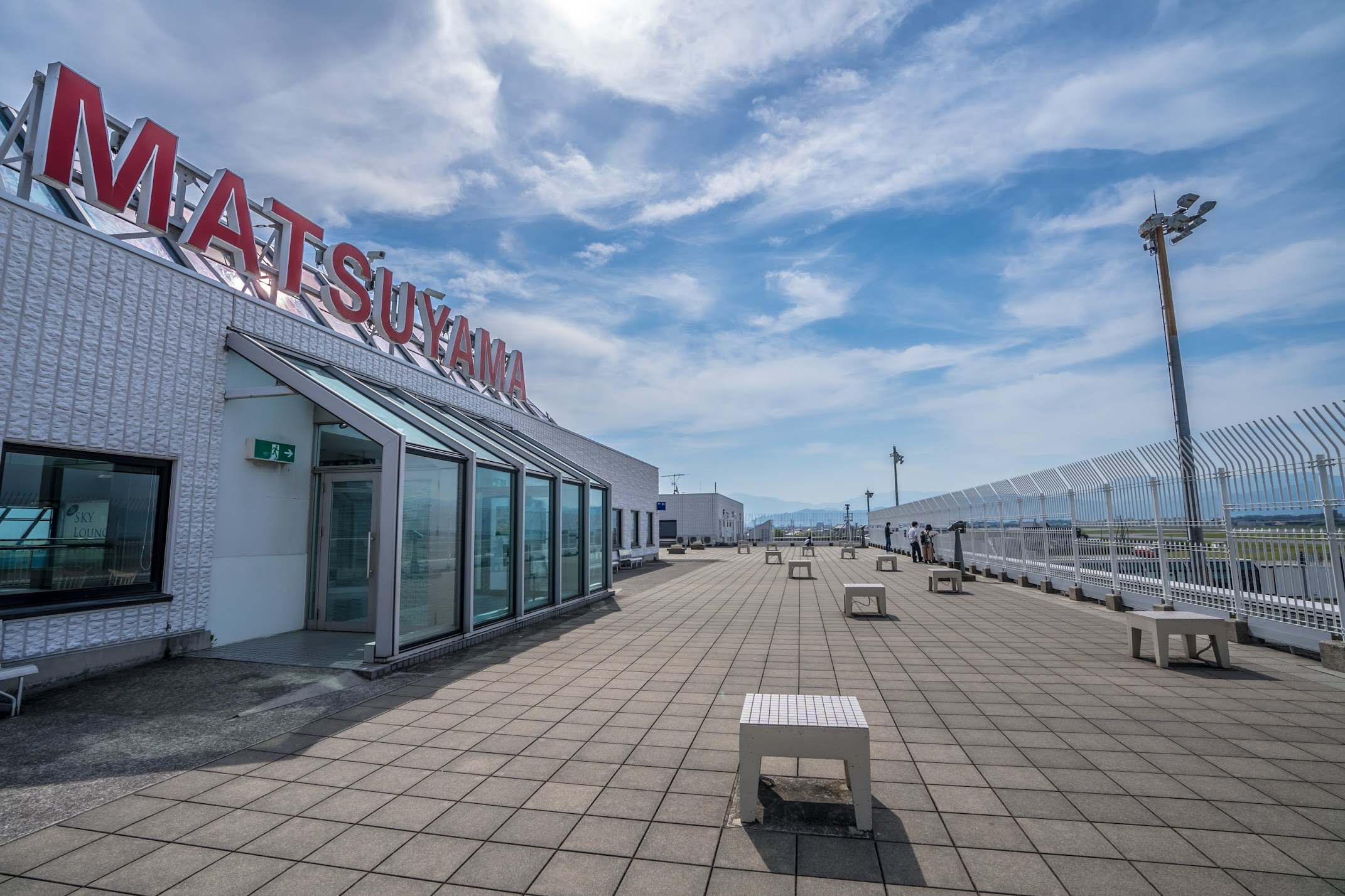 Matsuyama Airport Observation deck3