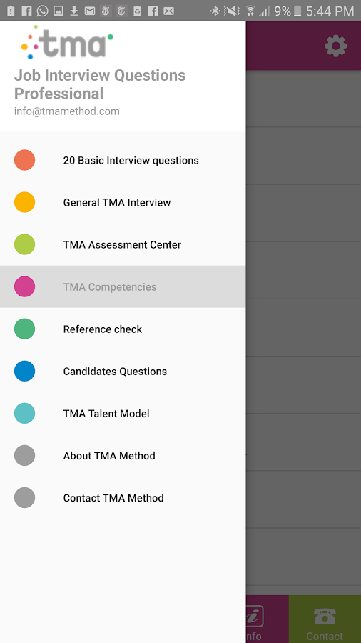 Job Interview Questions- screenshot