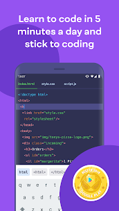Mimo Apk – Learn coding in JavaScript, Python and HTML 1