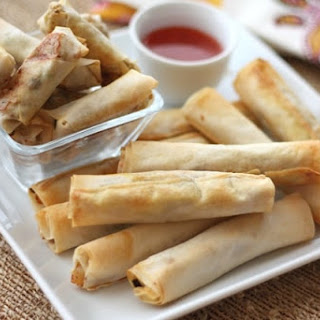 Baked Filipino Lumpia Recipe