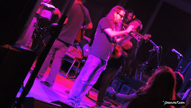 Photo: Budos Band playing the aftershow at the  Calgary Folk Music Festival