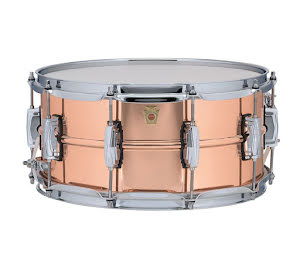 """14"""" x6,5"""" Ludwig Copper Phonic - Smooth Polished Shell - LC662"""
