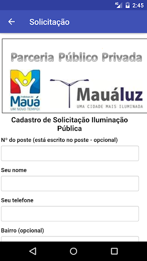 Mauá Luz screenshot 2