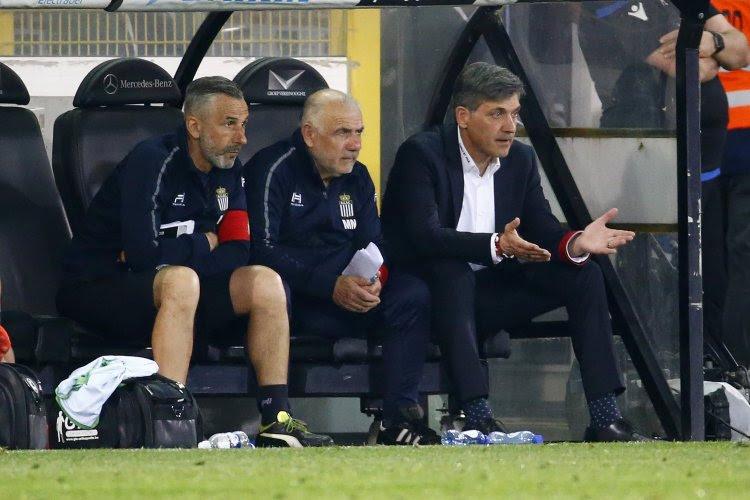 Il y a un retour dans la sélection de Charleroi pour le match à Ostende