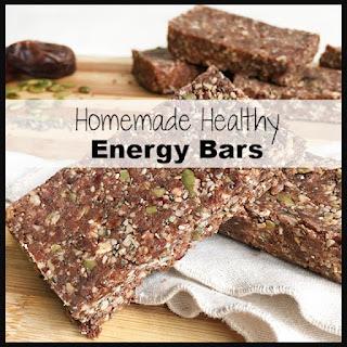Homemade Healthy Energy Bars.