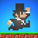 SUPER MEGA RUNNERS 8-Bit jump icon