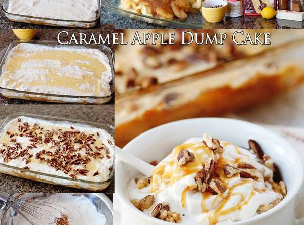Caramel Apple Dump Cake Recipe