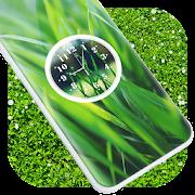 Grass Clock Live Wallpaper