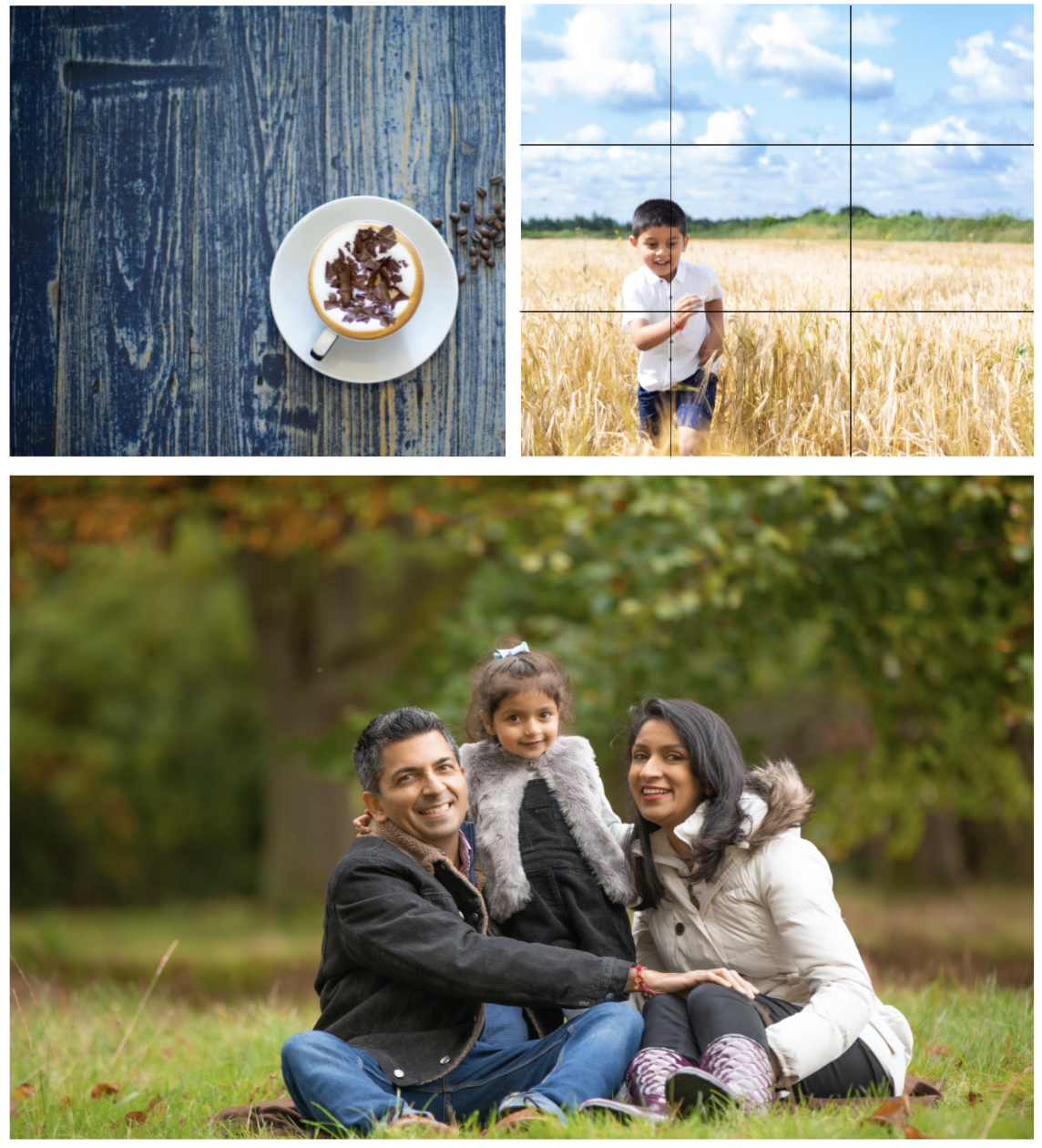 Think about composition for social media photos