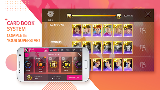 SuperStar SMTOWN  captures d'écran 5