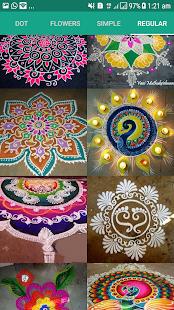 Kolam Designs - náhled
