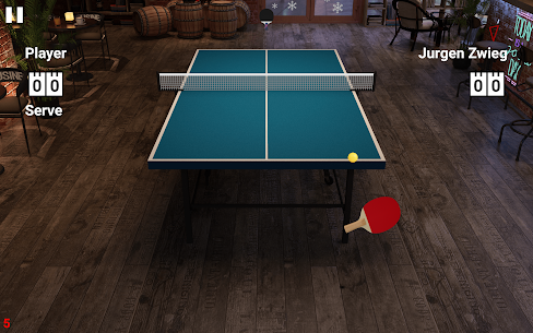 Virtual Table Tennis 9