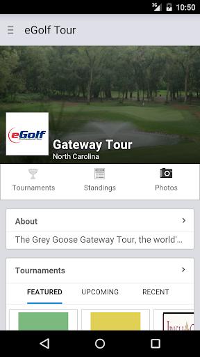 eGolf Gateway Tour