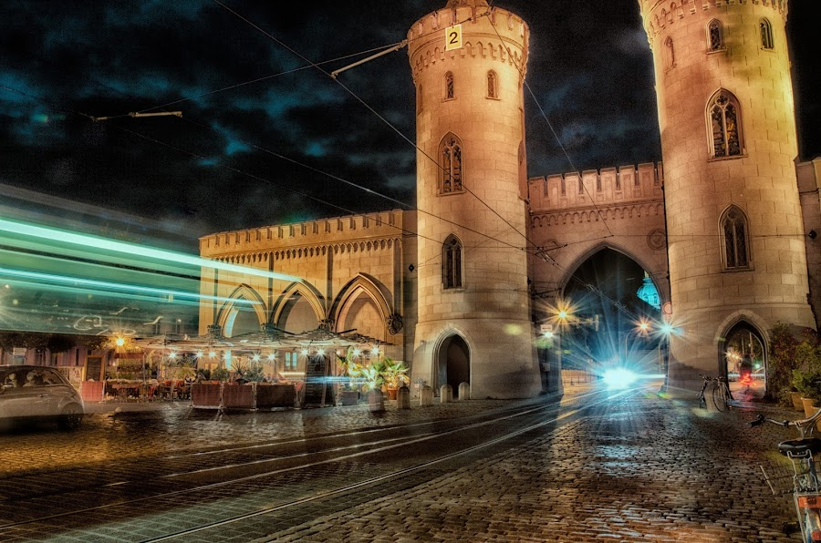Potsdam Nauener Tor by Colin Dixon - Travel Locations Landmarks ( famous landmarks, potsdam, pcwlandmarks, germany, nauener, tor )
