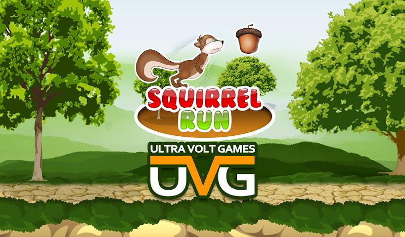 android Squirrel run-Ultimate runner Screenshot 0