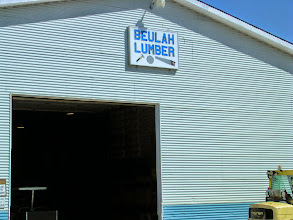 Photo: Our new exterior sign