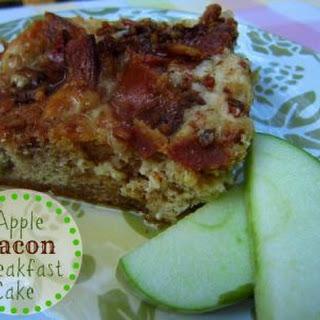 Apple Bacon Breakfast Cake.