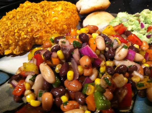 A Healthy N Delicious Bean Salad ;)