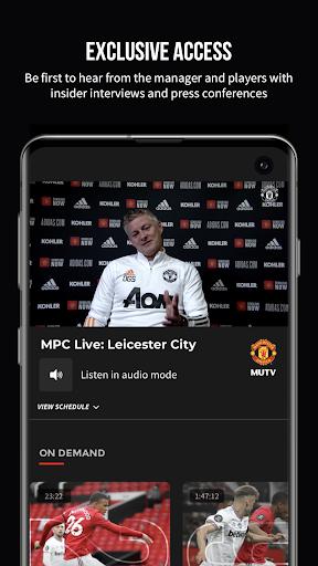 MUTV u2013 Manchester United TV 2.9.0 screenshots 2