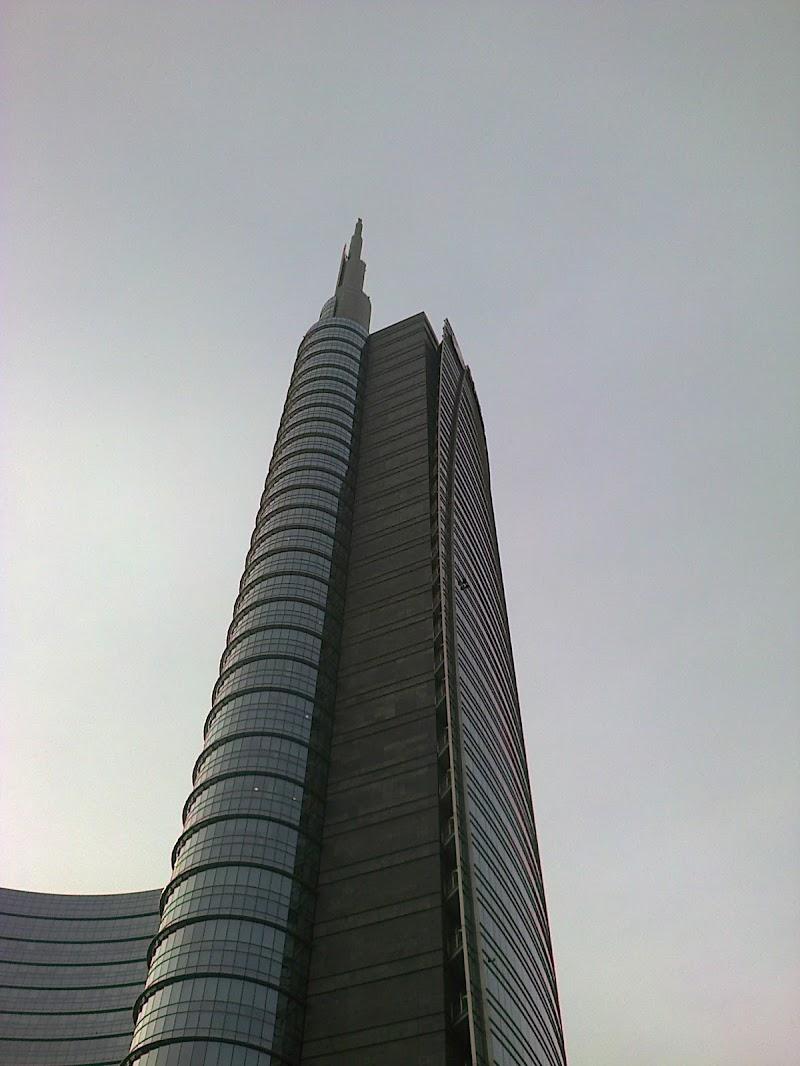 Skyline a Porta Garibaldi Milano di archiviobesozzi