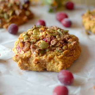 Paleo Cranberry Pumpkin Muffin Tops