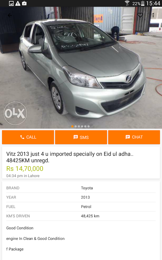 OLX Pakistan- screenshot