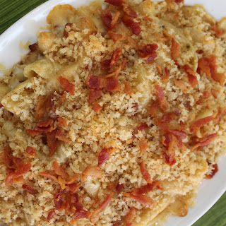 Pepper Jack Bacon Mac and Cheese.