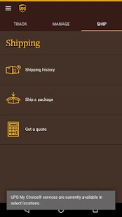 Ups Quote Interesting Ups Mobile  Android Apps On Google Play