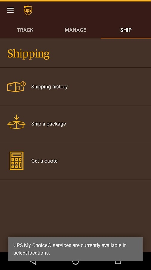 Ups Quote Captivating Ups Mobile  Android Apps On Google Play