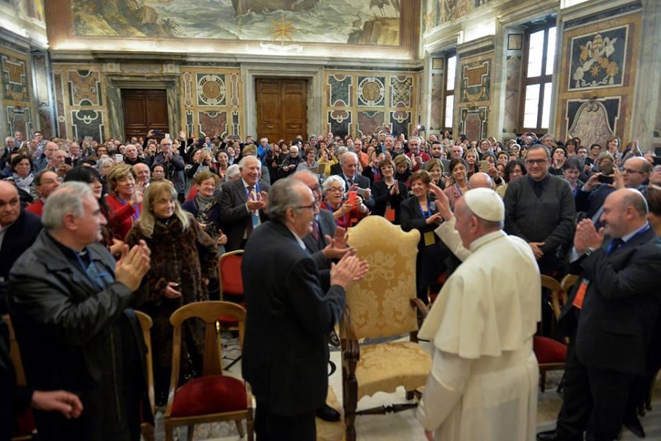 Diễn từ của Đức Thánh Cha với Liên đoàn Giáo viên Tiểu học Công giáo của Ý